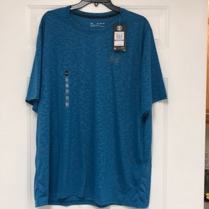 Under Armour Men's Threadborne Embossed T Shirt